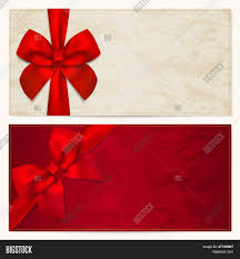 voucher gift certificate coupon gift card template bow voucher gift certificate coupon gift card template bow ribbons