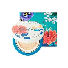 <b>Кушон</b>-<b>хайлайтер</b> Be A Flower Tone-Up Cushion 02 Gold, золотой ...