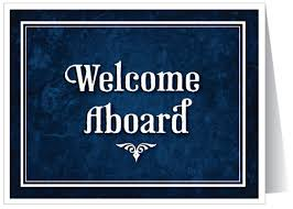 Image result for welcome aboard images