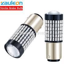 Zauleon <b>2pcs 1157 P21/5W BAY15D</b> Red Taillight LED Flash ...
