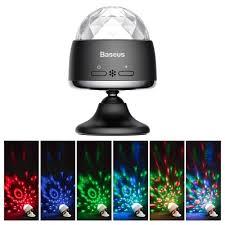 Умный <b>светильник Baseus Car Crystal</b> Magic Ball Light Black ...