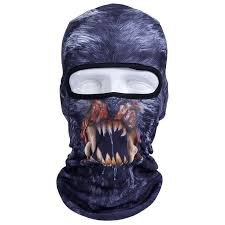 New <b>3D Animal</b> Ski Balaclava Full <b>Face Mask</b>   Luces