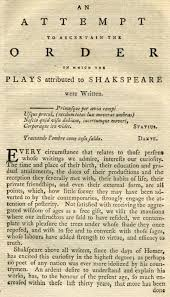 Chronology of Shakespeare's plays - Wikipedia