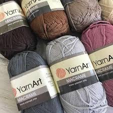 <b>Пряжа Yarnart</b> «<b>Macrame</b>» - купить пряжу <b>Ярнарт</b> «<b>Макраме</b> ...