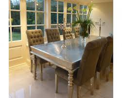 Silver Dining Room Set Remarkable Dining Rooms Also Silver Dining Tables In Furniture