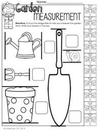 Easter, Free printable and Activities on PinterestMay Printable Packet - Kindergarten Literacy and Math. Measurement with non-standard units