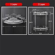 Shower Caddy Bathroom <b>Triangle</b> Shower Shelves Storage Basket ...