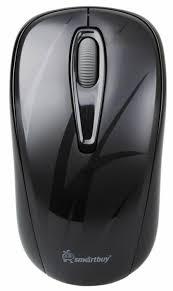 <b>Беспроводная мышь SmartBuy</b> SBM-310AG-K Black USB — купить ...