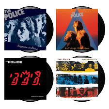 <b>The Police</b> - Reggatta De Blanc Vinyl + Zenyatta Mondatta Vinyl + ...