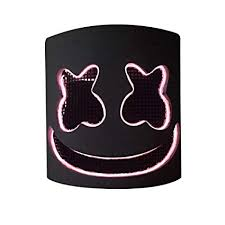 MZS Tec Led DJ Mask, Soft dj Marshmello Mask for ... - Amazon.com