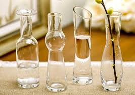 Creative Glass Flower Vases Transparent Crystal ... - Amazon.com