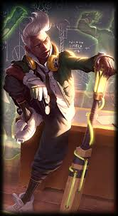 <b>Academy Ekko</b> - League of Legends skin - LoL Skin