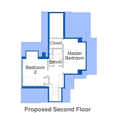 Floor Plans  amp  House Elevations   The Essex House   This Old House    Essex House Second Floor Before