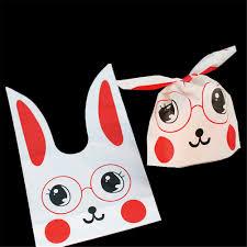 <b>50pcs</b> Cute <b>Yellow</b> White Duck Gift Bag Easter Candy Gift Set <b>Plastic</b> ...