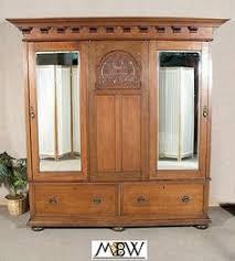 wardrobe armoire closet antique english solid oak sectional armoire wardrobe closet w drawers antique english wardrobe armoire