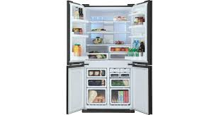 <b>SJ</b>-<b>FJ97VBK</b> - <b>SJFJ97VBK</b> - <b>Холодильники</b> - 4х-дверные ...
