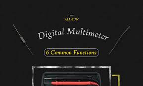 <b>Digital Multimeter</b> 3 1/2 1999t AC/DC Ammeter Voltmeter High ...