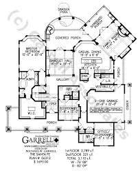 Santa Fe House Plan   House Plans by Garrell Associates  Inc santa fe house plan   st floor plan