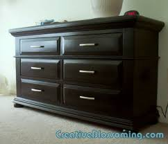 painted dresser black painted bedroom furniture