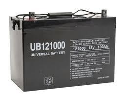 <b>Big</b> Joe PTE30-95AH Battery Replacement - 12 Volt 100 Ah AGM ...