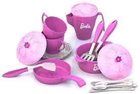 """<b>Набор</b> кухонной и <b>чайной</b> посудки <b>Нордпласт</b> """"Барби"""", 639 ..."""