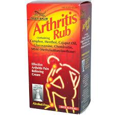 Обезболивающий бальзам от артрита, <b>Arthritis Rub</b>, Tiger Balm ...