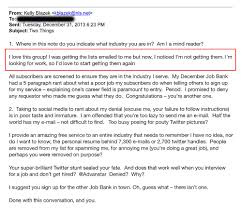 kelly blazek s linkedin rejection career and finance blazek s response to rick uldricks another person who faced her wrath after a request to join the job board