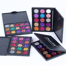 CmaaDu <b>15 Colors Shimmer Diamond</b> Eyeshadow Cream Makeup ...