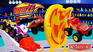 <b>Blaze</b> and the Monster Machines Flaming Stunts Playset Racing ...