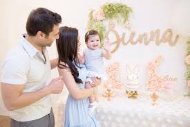 """<b>Some bunny</b> is ONE!"" Sienna's <b>1st birthday</b>"