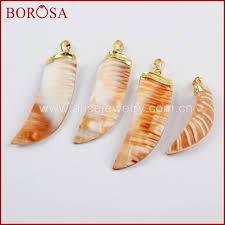 40~55x14~18mm Copper Women <b>BOROSA 10PCS</b> New! Gold ...