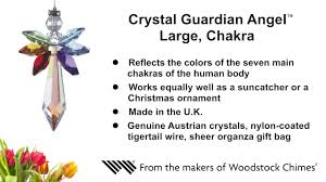 <b>Crystal</b> Guardian Angel Suncatcher - Large, Chakra from the makers ...