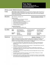 entry level administrative assistant resume template design cover letter resume sample of administrative assistant sample regarding entry level administrative assistant resume 7040