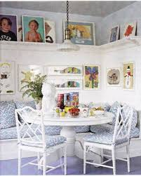 breakfast nook table soothing breakfast nook with open shelving and wall art breakfast nook table