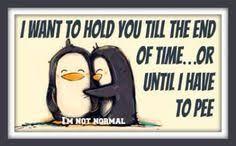 Penguin Illustration Print Big Hugs for You Black White Pastel ... via Relatably.com