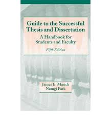 Guide to the Successful Thesis and Dissertation   A Handbook for Students and Faculty epub