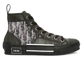 <b>Высокие кеды Dior Homme</b> Кроссовки Черный на BABOCHKA.RU
