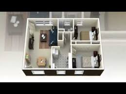 Bedroom House Plans D View Concepts   YouTube