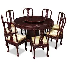 Round Dining Room Tables For 8 Oak Solid Oak Extending Dining Table And 8 Chairs Art Deco Glass