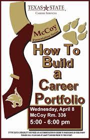 mccoy college academic advising blog mccoy presentation series mccoy presentation series how to build a career portfolio