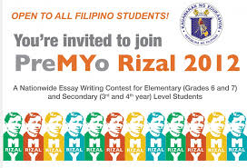 History essay contests      presidential candidates Philippine essay writing contests