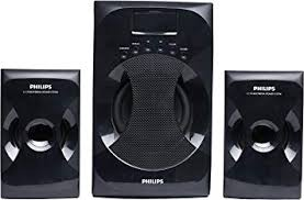 Philips MMS-4040F/94 <b>2.1 Channel</b> Multimedia Speaker System ...