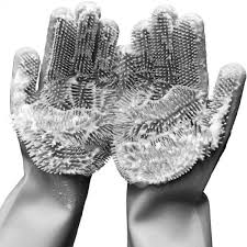 Showcase Scrubbing Gloves | Buy 3, Get <b>Free Shipping</b> • Showcase