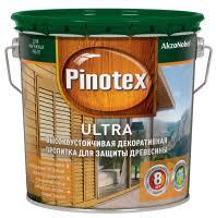 Антисептик Пинотекс Ультра бесцветная 2.7 л, <b>Пропитка</b> ...