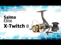 Безынерционная <b>катушка Salmo Elite</b> X-Twitch 8 - YouTube