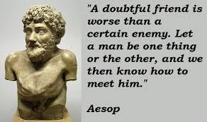 Aesop Quotes. QuotesGram via Relatably.com