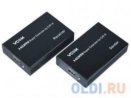 <b>Удлинитель HDMI по</b> витой паре до 60м extender VCOM DD471 + ...