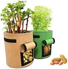 Huaxiangoh <b>2PCS</b> Garden <b>Plant</b> Bag Vegetables <b>Growing</b> ...