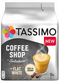 <b>Кофе</b> в капсулах <b>Tassimo Coffee</b> Shop Selections <b>Flat</b> White ...