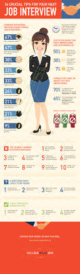 34 crucial tips you must remember for your next job interview job interview infographic